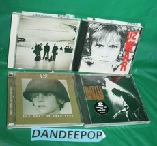 5 U2 Music CD's Best OF, War, All That You Can't Leave Behind Rattle And Hum - $29.69