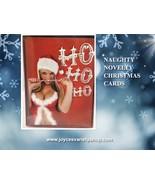 Christmas Cards & Envelopes Novelty Naughty Sexy HO HO HO  - $10.99