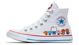 Converse X by Hello Kitty Limited Edition Sneakers Unisex Shoes Men's Women's image 4
