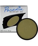 Mehron Makeup Paradise AQ Face & Body Paint 1.4 ounce Olive - $13.52