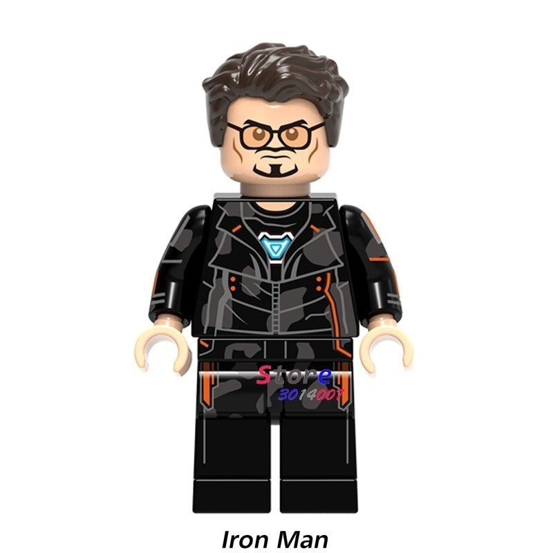 Primary image for 1pcs Superhero Marvel Tony Stark Iron Man Avengers Infinity War Minifigures