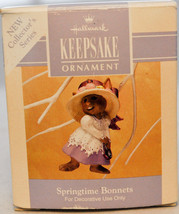 Hallmark - Springtime Bonnets - Bunny Bonnet - 5th in Series - Keepsake ... - $7.65