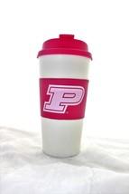 NCAA Pink Purdue Travel Tumbler 16oz w Lid - $8.90