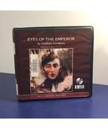 VINTAGE AUDIOBOOK CD BOOK IN BOX CASE EYES OF EMPEROR GRAHAM SALISBURY W... - $14.85