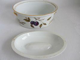 Royal Worcester Evesham Vale Covered Casserole + Rectangular Serving Dish Bowl image 8