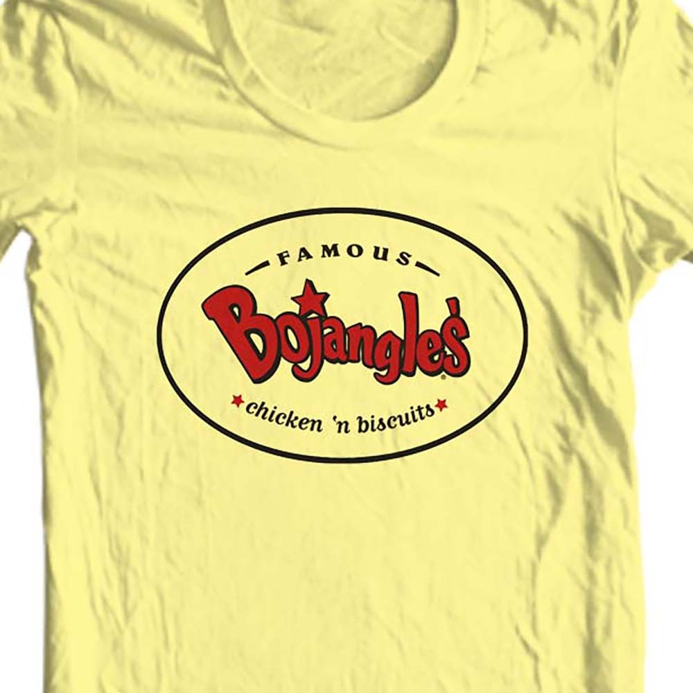 Intage 1980 s fast food graphic tee 70 s 80 s yellow cotton tshirt for sale online store. yellow