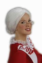 Mrs. Santa Wig Christmas Holiday Adult Costume Accessory - $14.99