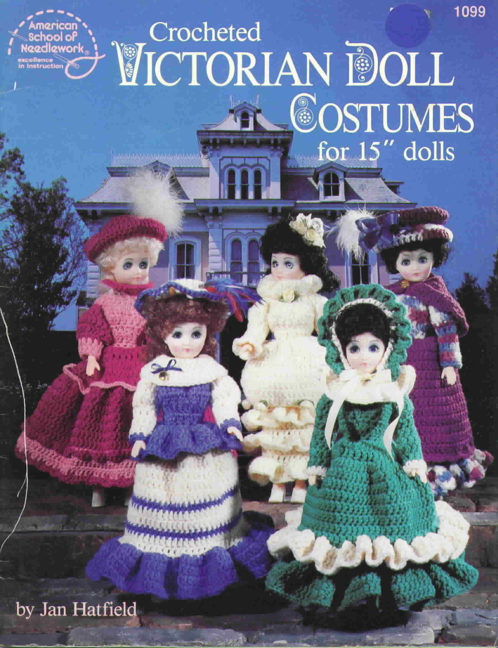 American school of needlework victorian doll costumes