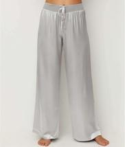 PJ HARLOW Dark Silver Jolie Satin Pant, US X-Small, NWOT - $39.20