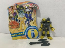 Imaginext Blind Bag Series 10 TWO HEADED OGRE TROLL castle figure w/axe NEW - $5.93