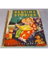 Little Golden Book Bedtime Stories No 2 S Printing 1942  Gustaf Tenggr... - $19.95