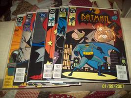 BATMAN ADVENTURES #1, 2, 3, 7 (1 BAGGED 1 OPEN), 20, - $14.50