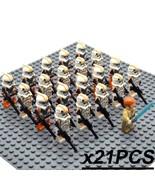 21pcs/set Star Wars The Clone Wars Obi-Wan & 212th Attack Battalion Mini... - $29.95