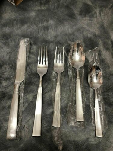 Primary image for Cuisinart Stainless Steel 5 Piece Flatware Julienne Place Setting For 1
