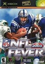NFL Fever 2003 (Xbox) - $7.91