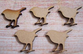 4x Laser cut Robins Craft Blank  WOODEN, MDF, TAGS , Christmas Varied Sizes - $2.35+