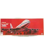 VINTAGE NITTO KAGAKU 1:144 PAN AM BOEING 747 JUMBO JET KIT (1969) - $59.39