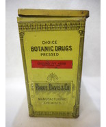 Parke Davis Co Gound Ivy Herb Botanic Drugs Pressed Herbs Apothecary Tin... - $79.15