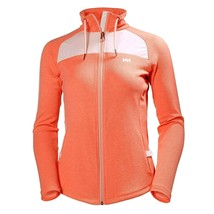 Helly Hansen Women's Vali Jacket Lightweight Full-Zip Coral Bright Bloom... - $74.69