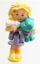 1994 Vintage Polly Pocket Doll Puppy Pendant - Polly and Scamp Bluebird ... - $8.00