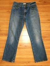 Levis 550 Relaxed Bootcut Jeans Womens Size 10 S Blue Stretch Denim 30x29 - $19.75