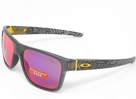 Oakley Crossrange Tour De France Sunglasses OO9361-1857 Grey Smoke W/ Prizm Road - $98.99