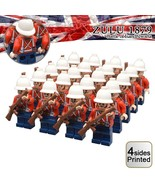 20pcs/set British Empire Army Soldiers The Anglo-Zulu War Minifigures Toy - $41.99