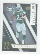 2016 Panini Absolute Matt Forte NY Jets  #40  192565 - $0.98
