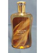 Bath and Body Works New Warm Vanilla Sugar Shower Gel 10 oz - $9.95