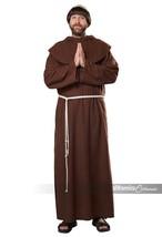 California Costumes Renaissance Friar Monk Robe Adult Halloween Costume ... - £24.66 GBP