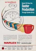 Original Vintage Ad (1957): Marlex 50, Phillips Chemical Co / Epon Resin... - $75.00