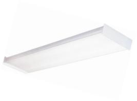 Lithonia Lighting Fluorescent Square 2 lamp, 4 feet, 120V Wraparound Lig... - $38.76