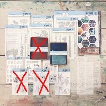 NEW. JEAN Journal Bundle. Art Journal Traveler's Notebook. Elizabeth Craft image 2