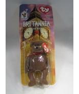 Britannia The Bear 1997 McDonald's TY Beanie Baby With Tag Errors C2803 - $22.63