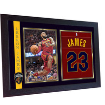 LeBron James Cavs signed autograph photo print NBA Basketball Framed - $19.27