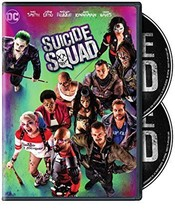 Suicide Squad DVD 2016 Will Smith Action Advent... - $6.99