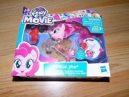 My Little Pony The Movie Pinkie Pie Flip & Flow Seapony Action Figure Ne... - $16.00