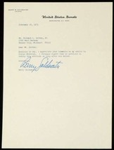 Senator Barry Goldwater Signed Autographed Typed Letter TLS Re: George M... - $98.95
