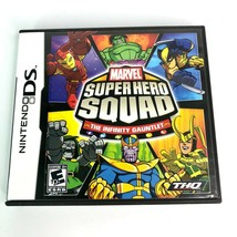 Marvel Super Hero Squad: The Infinity Gauntlet (Nintendo DS , 2010) Comp... - $8.59