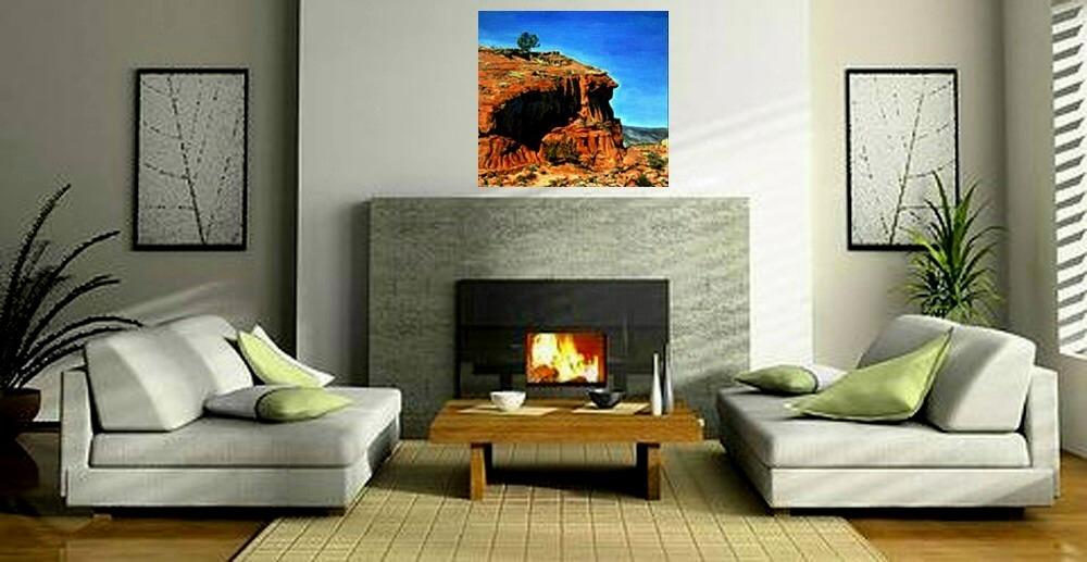 Jemez Profile (Original Landscape Painting, NM)