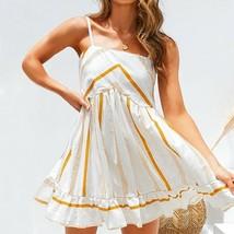 Women Dress Pettite Size Bodycon Cocktail Patterned Casual Sphagetti Straps 1 Pc - $20.99