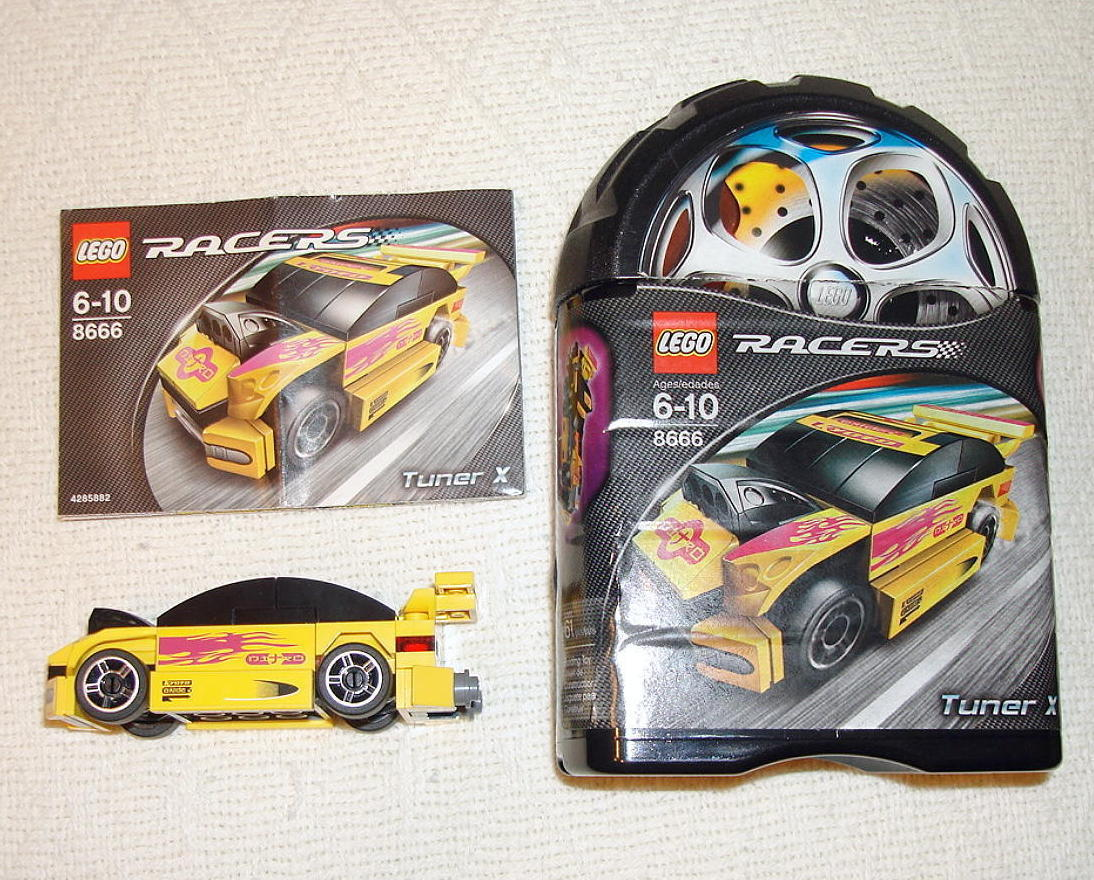 Lego Racers Tiny Turbos Tuner X Set And Similar Items