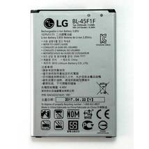 LG Li-ion Phone Battery 3.85V Typ 2500mAh 9.6Wh BL-45F1F EAC63321601 YBY New OEM - $14.99