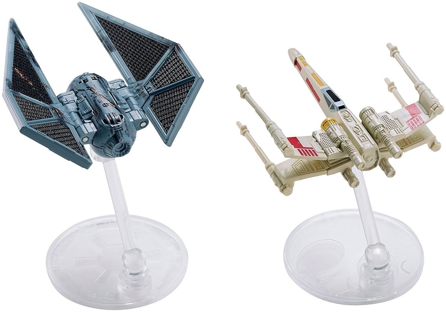 Hot Wheels Star Wars Rogue One Ships Tie Striker vs. X-Wing Vehicle for sale  USA
