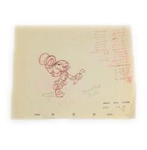 "Walt Disney Jimmy Cricket Sketch Print Art 10"" x 8""  - $14.85"