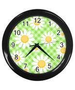 Daisy Custom Black Wall Clock - $19.95