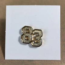 "Vintage Avon ""CLASS OF 83"" TIE TACK/LAPEL Graduation/Birthday Year PIN G... - $11.26"