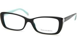 New Tiffany & Co. Tf 2090-H 8001 Black Eyeglasses Frame 52-16-140 B33 Italy - $113.83