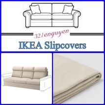 IKEA LIDHULT Slipcover Cover for sofa section Gassebol light beige 704.050.59 - $99.99