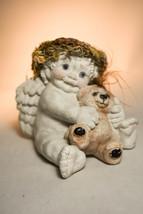 Dreamsicles: Cherub Holding Teddy Bear - DT108 - Classic Cherub - $28.70